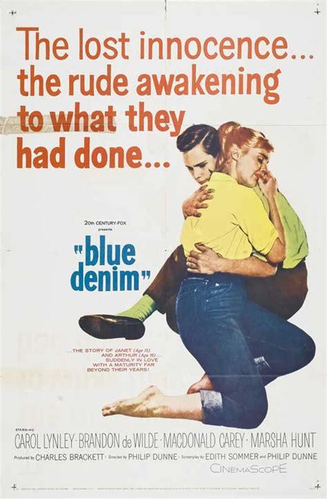 film blue jeans blue denim film 1959