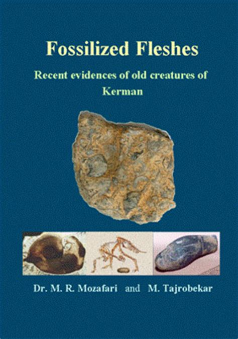 she found fossils books book on iranian fossils fossilized fleshes recent