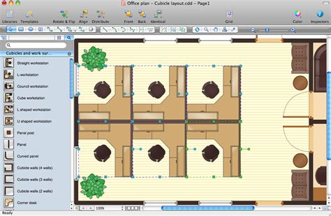 office layout planner free inside