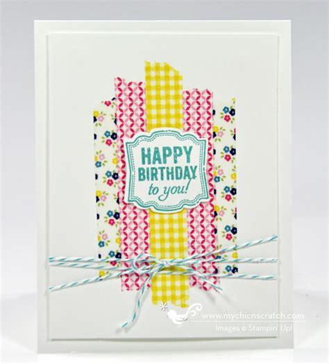 washi card gallery chic n scratch invitations ideas