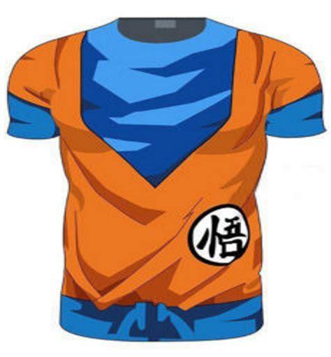 Goku Mens T Shirt top goku 3d t shirt sleeve sleeve wazene