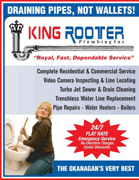 King Rooter And Plumbing by King Rooter Plumbing Inc Opening Hours 2151 Louie Dr