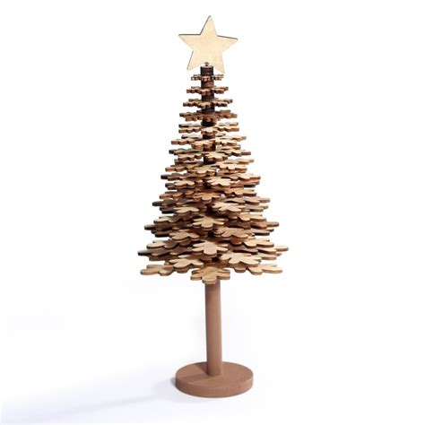 buy wooden christmas tree