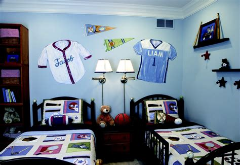 Cool Sports Bedrooms For Guys Bedroom Ideas Teenage Home Boys Bedroom Decorating Ideas Sports 2