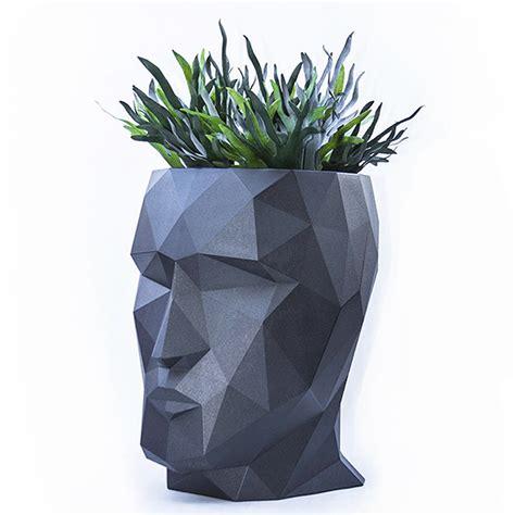 Vondom Planters by Adan Planter Designed By Teresa Sapey Vondom Orange Skin