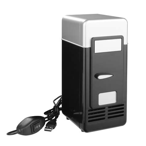 Small Desk Refrigerator Portable Usb Mini Desk Fridge And Drink Cooling Warmer For Laptop Pc Notebook Ebay