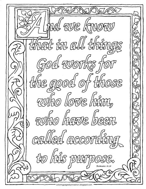 free printable scripture verse coloring pages romans coloring pages for kids by mr adron printable romans 8