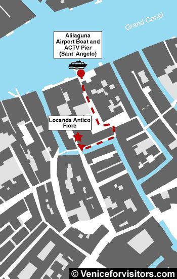 locanda antico fiore directions to hotel locanda antico fiore with walking map