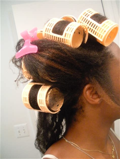 black hair wet set on natural hair how to use roller sets to stretch 4b 4c natural hair
