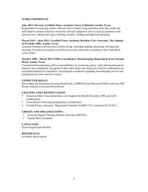 resume doro origin pdf