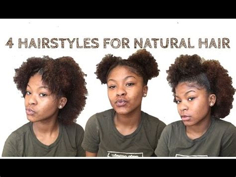 mabhanzi all day everyday teamnaturalista natural hair 4 quick easy hairstyles for short medium natural hair