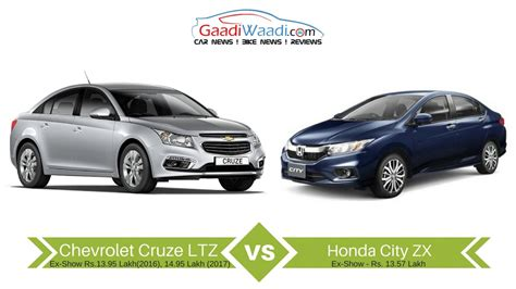 chevy cruze or honda civic new honda city vs chevrolet cruze specs comparison