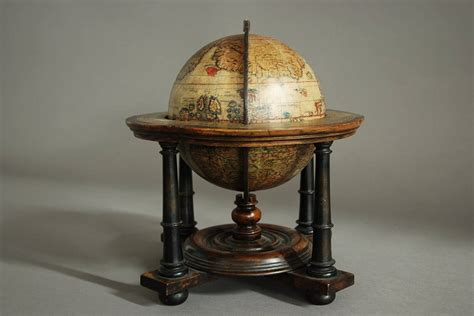 Globe Table L Globe Table L Cruncley Table Globe At 1stdibs Rotating World Map Globes Table Decor