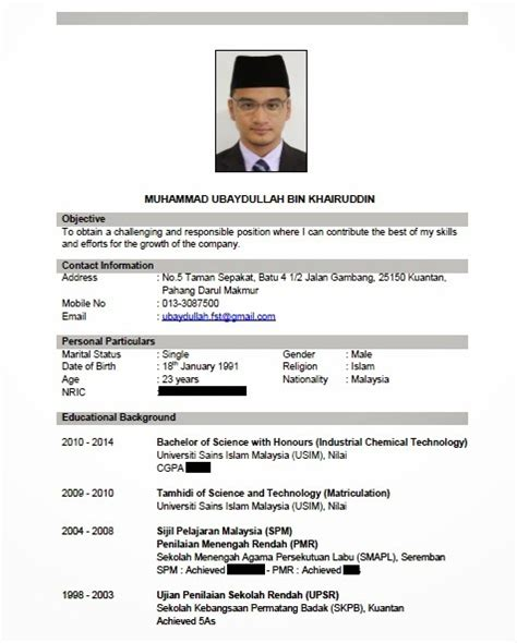 panduan membuat resume ringkas ibnkhayr tips buat resume ubaydullah