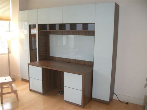ikea wall unit with desk ikea storage cabinets office