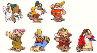 The names of the seven dwarfs kazure top