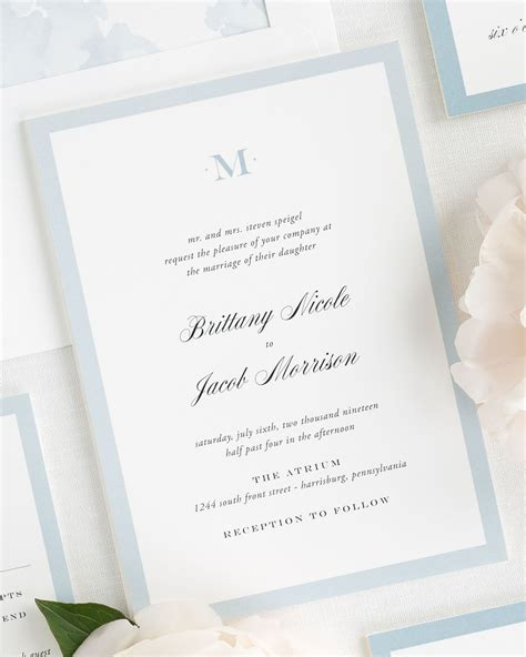 monogram wedding invitations upscale monogram wedding invitations wedding invitations