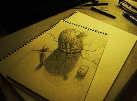imagenes para dibujar a lapiz en 3d faciles espectaculares dibujos en 3d a l 225 piz gallo pinto