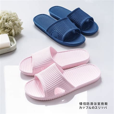women bathroom slippers female home slippers women fashion bathroom slipper grey