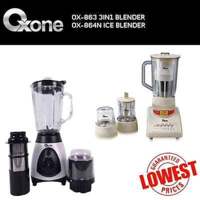 Mixer Oxone 3 In 1 qoo10 ox 864n 3in1 blender blender best price