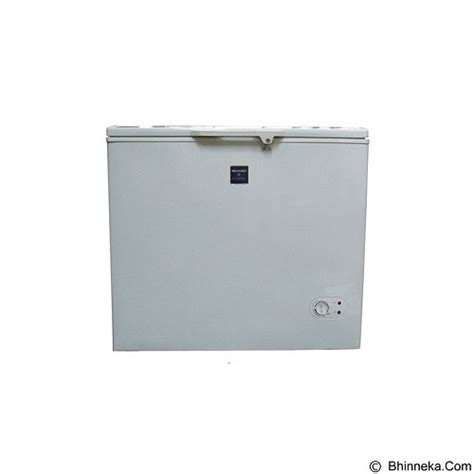 jual sharp chest freezer top open frv 300 murah