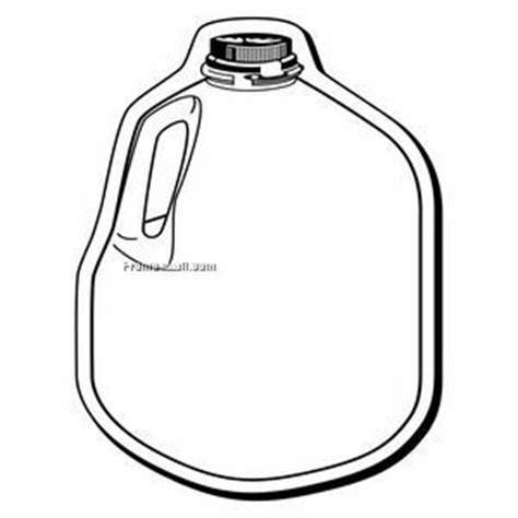water jug coloring page free coloring pages of milk jugs
