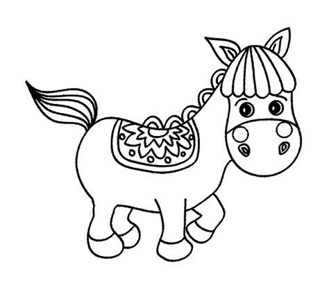 film kartun kuda mewarnai gambar kuda lucu dan menarik untuk anak anak