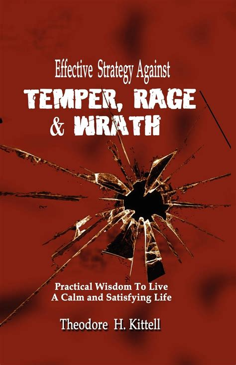 temper temper an effective strategy to conquer your anger and hostility books theodore h kittell