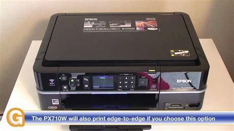 resetter epson px660 epson stylus photo px710w multifunction printer review