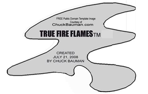 airbrush templates free free true flames airbrushing stencil template 4