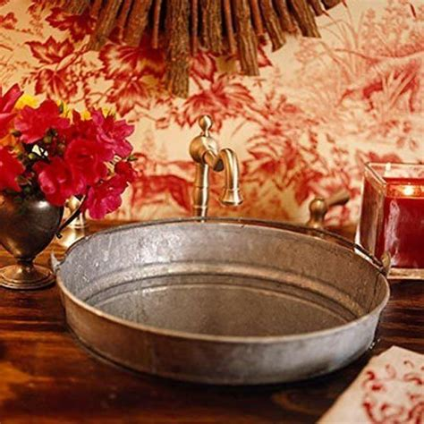 Galvanized Kitchen Sink 17 Best Images About Galvanized Sinks On Pinterest Basin Sink Rustic Bathrooms And Buckets