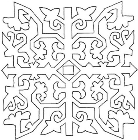 Mosaic Patterns Coloring Pages Az Coloring Pages Coloring Pattern Pages