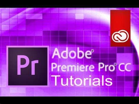 tutorial adobe premiere for beginner adobe premiere pro cc tutorials for beginners