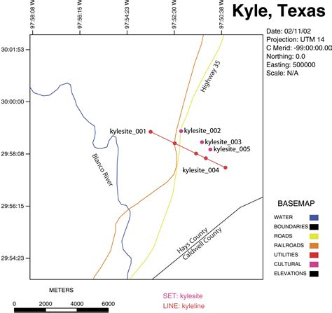kyle texas map usgs open file report 02 118