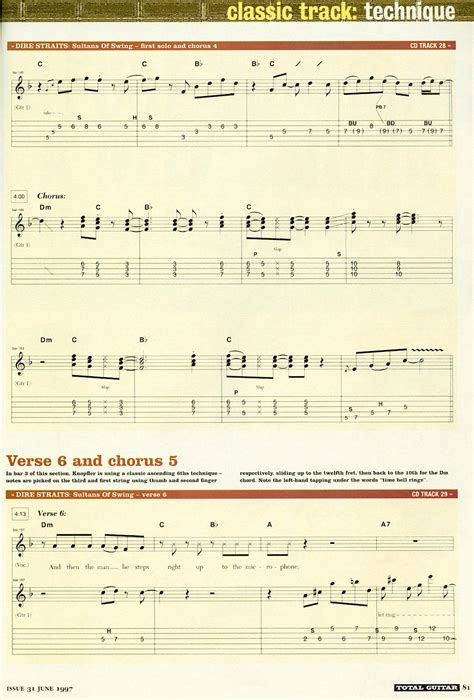 dire straits sultans of swing lesson sultans of swing pdf toothbad