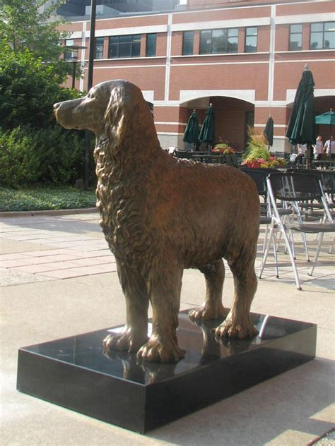 setter dog statue monty the therapy dog bronze statue english setter sculpture