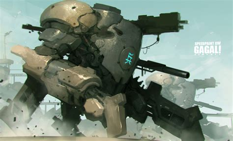 Combat Pembasmi Kecoa mechs and large robots favourites by xidon on deviantart