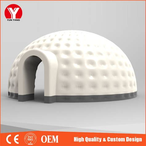 Tente Bulle Transparente Achat 164 by Cing En Plein Air Blanc Igloo Gonflable Bulle