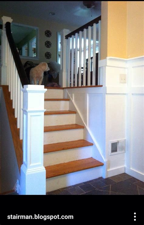 split level stairs update updating house stair remodel