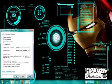 themes setup download for pc how to install the iron man pc theme youtube