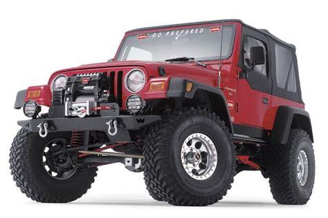 Rock Crawler Bumpers Jeep Warn 61853 Warn Rock Crawler Front Bumper For 97 06 Jeep