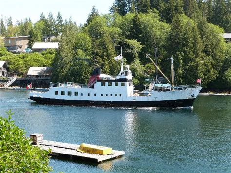 lady rose boat tours mv frances barkley at bamfield bc picture of lady rose