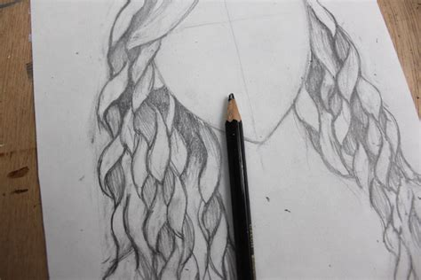 how to draw curly hair 12 steps with pictures wikihow easy step by step instructions for drawing curly hair