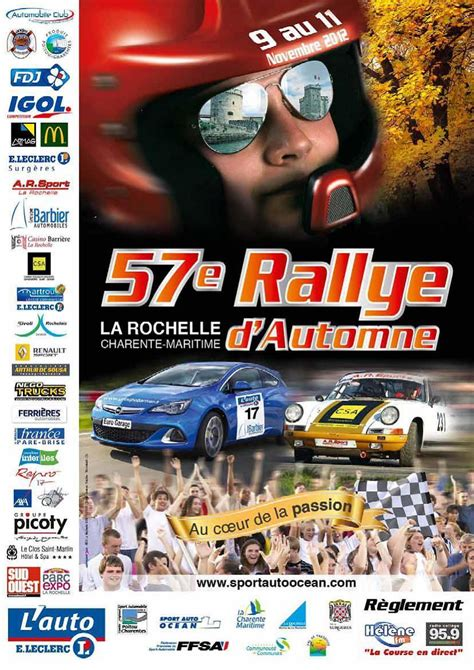 Rally D Autonme by Rallye D Automne La Rochelle 2012