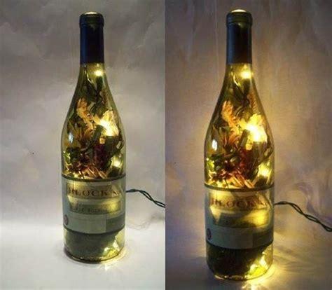 diy light up wine bottle creative ideas diy stunning wine bottle light