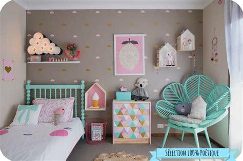 chambre enfant deco inspiration d 233 co pour une chambre de b 233 b 233 po 233 tique