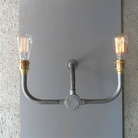 Industrial Wall Light by Industrial Handlebar Wall Light By Tony Designs