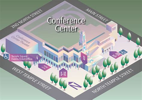 lds conference center floor plan temple square events ticket office
