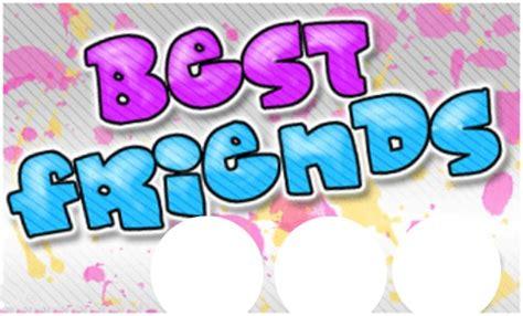 imagenes que digan bff fotomontagem mejores amigas por siempre bff pixiz