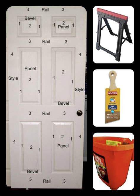 how to paint a 6 panel exterior door tips for painting doors home paint it walls